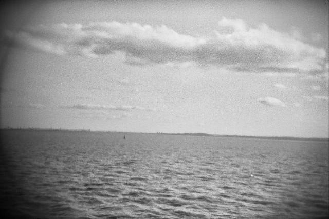 Header of a distant shore