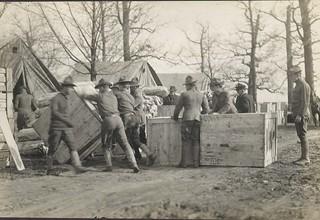 Flood Relief Operations, Dayton, OH - 1913 Flood