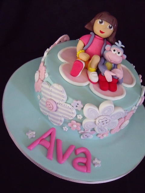 Dora cake Flickr - Photo Sharing!
