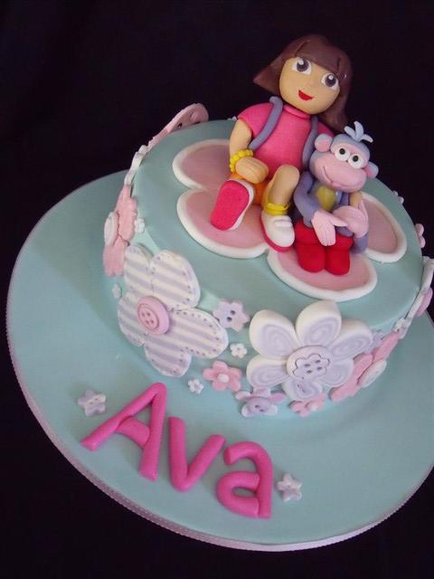 Cake Design Dora : Dora cake Flickr - Photo Sharing!
