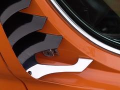 Lamborghini Miura door handle and release