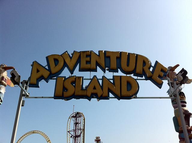 Header of Adventure Island