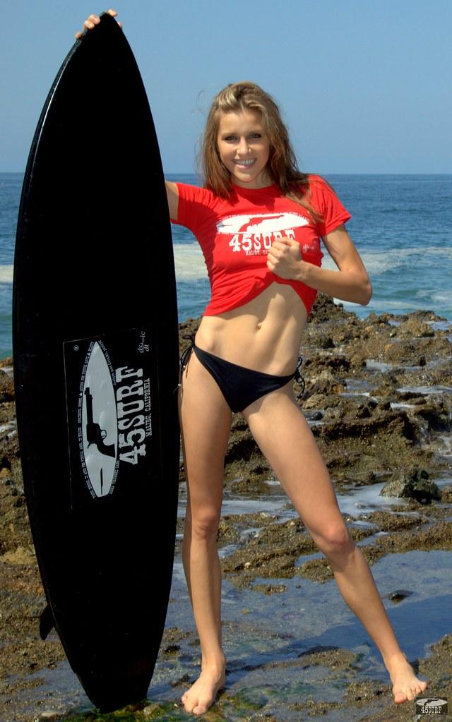 Pretty bikini model photos