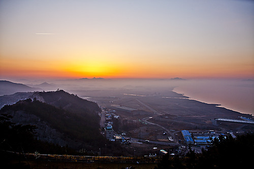 South Korea's Formula 1 Track @ Dawn