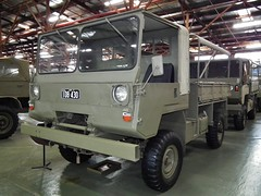 XF4 prototype truck - Army Design Establishment