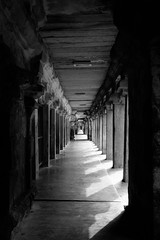 The Grand Corridors @ Tanjore Brihadeeswara Temple