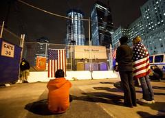 Ground Zero after Osama bin Laden's death