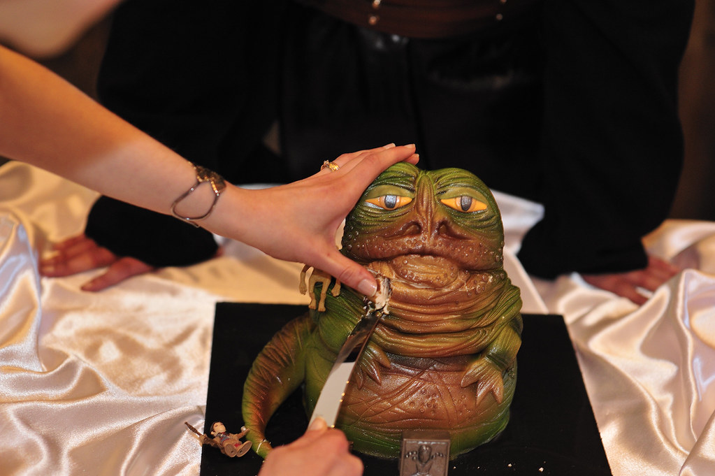 Jabba The Hutt Wedding Cake