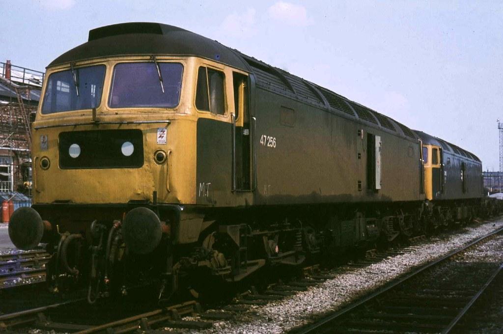 47256  Crewe Works. 31-05-1978