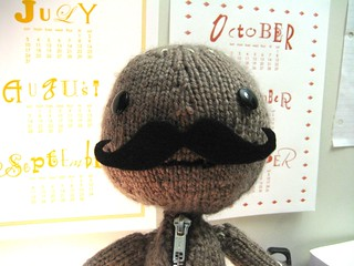 Sackboy with Mustache