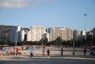 Obraz Praia do Flamengo. brazil praia beach sports rio riodejaneiro deporte aterro esporte flamengo glória footvolley futevolei futevoley