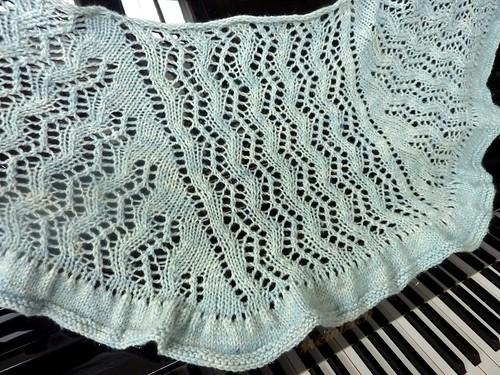 Zen Knitting Patterns : Zen rain shawlette pdxknitterati