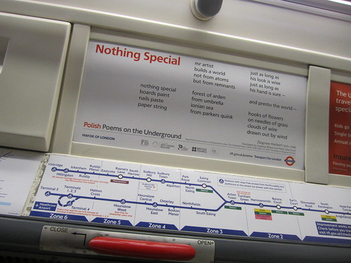 Polish Poems on the Underground