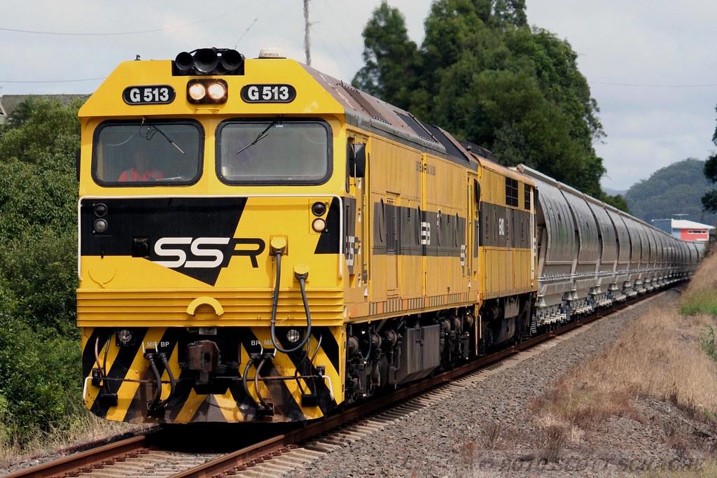 A rare site, A North Coast Coal train by Scott S