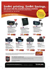 FINAL Lexmark PC Show Inkjet Printer Flyer