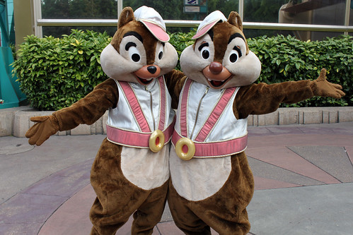 Discoveryland Chip and Dale
