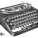 Patria typewriter ads