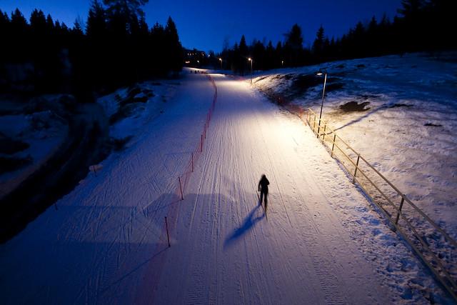 Lysløyper i Oslomarka - lysløyper i Oslo