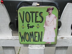 Votes for Women purse 1