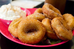 cinnamon mini doughnuts