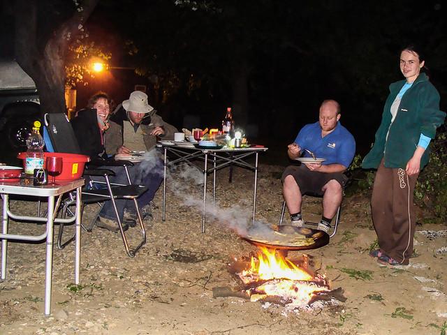 Garden BBQ in Ojdula