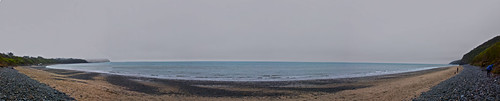 new sea sky panorama wales canon grey sand gloomy stones pano side wide newquay pebbles panoramic quay bach welsh olly beech cei plumstead ceibach 450d