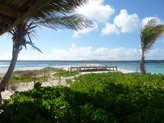 Sandy Island, looking over to Anguilla
