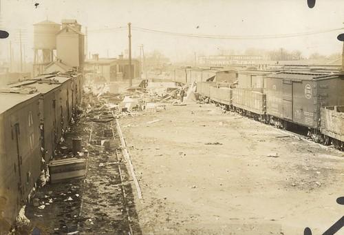 Flood Damage, Dayton, OH - 1913 Flood