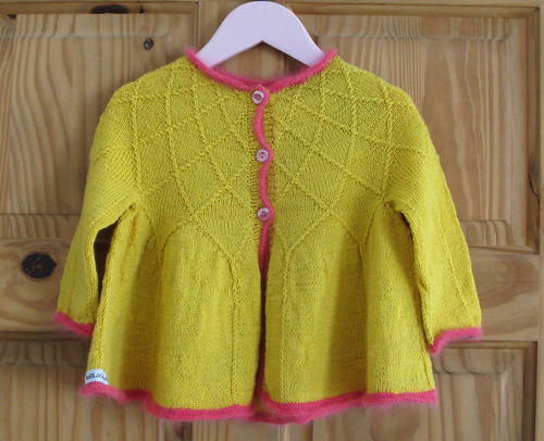 yellow zingy baby jacket