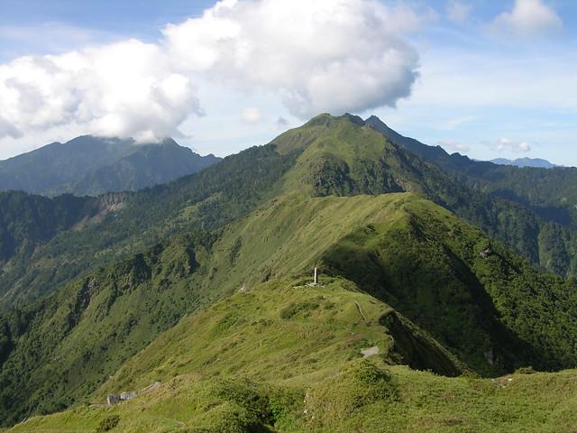 中央山脈的能高越嶺古道。(攝影:劉瓊慧)