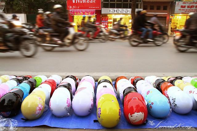 Motorcyclist's Helmet