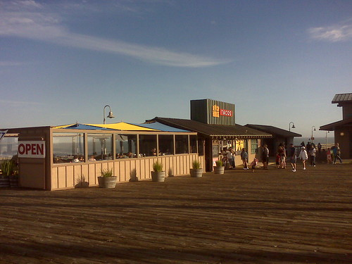 Beach House, Saturday evening, Ventura Pier