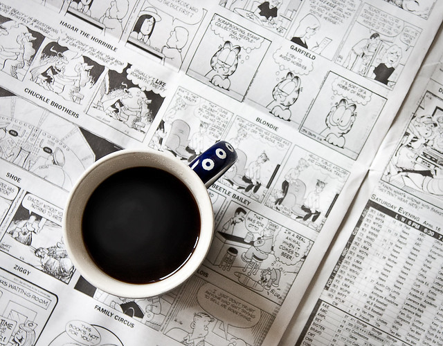 Comics and caffeine