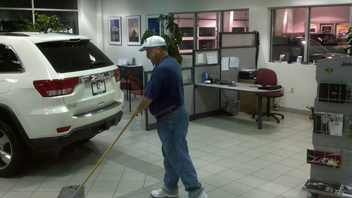 Auto Dealership Janitorial Cleaning
