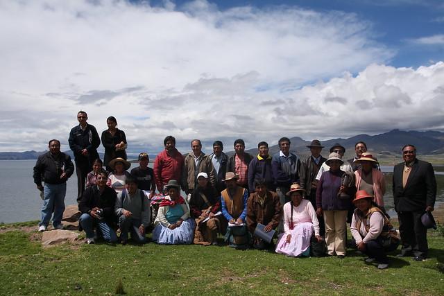 Grupo de la gira vivencial
