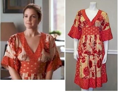 Tracy Reese kimono dress