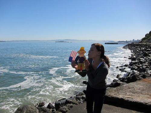 Flat Stanley, San Francisco, Golden Gate Br… IMG_5606