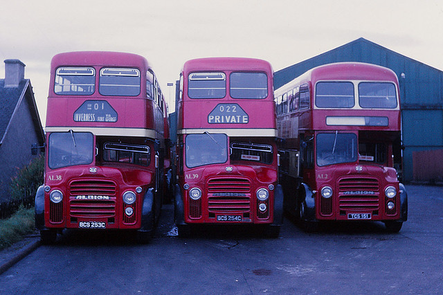Highland Omnibuses Albion Lowlanders Carse Road