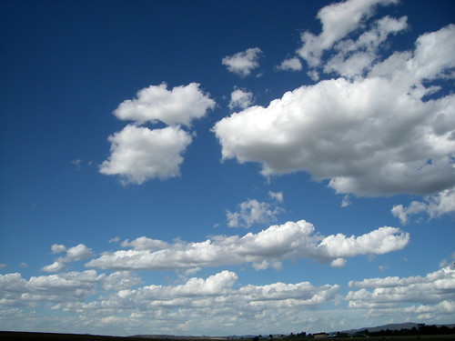 clouds out of Blayney