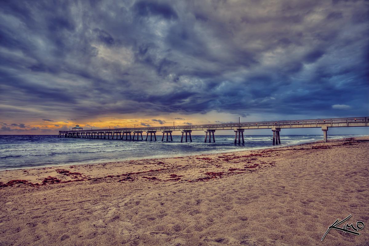 Deerfield beach fishing pier florida flickr photo sharing for Beach fishing florida