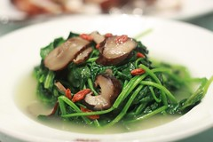 Baby Spinach in Vegetarian Stock - Shanghai 1930 A…