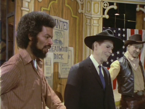 gil scott-heron ronald reagan and john wayne - b movie american nostalgia