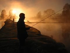 Sunrise Fisherman