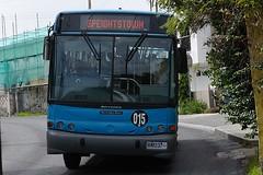 DSC_1096 079 Speightstown bus. Coming round de bend.