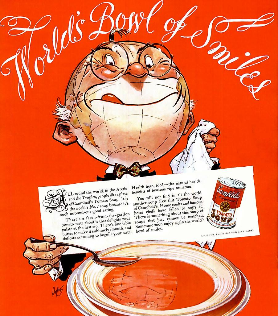1936 ... world's bowl of smiles!