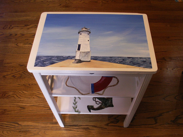 Side Table - Nautical Theme (image 1 of 4)