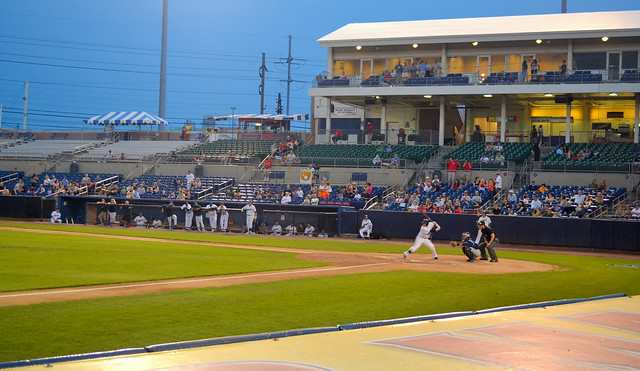 Bridgeport Bluefish Game, June 28, 2011