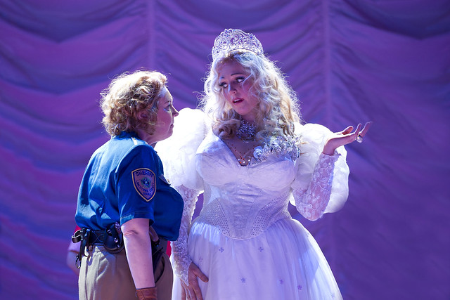 Eva Maria Westbroek as Anna Nicole and Sue Bickley as Virgie in Anna Nicole, The Royal Opera, © ROH / Bill Cooper 2011