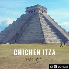 If you like #Tulum hike, #chichenitza is #HighAdventures. The trail to #2019wsj. #Repost @2019wsj ・・・ La ciudad prehispánica de Chichén Itzá es una de las 7 Nuevas Maravillas del Mundo y ¡está en México! The pre-hispanic Mayan city of Chichén Itzá is one