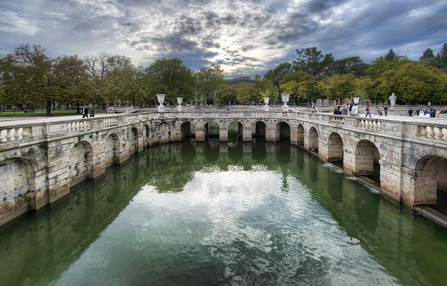 Nimes' Roman Baths